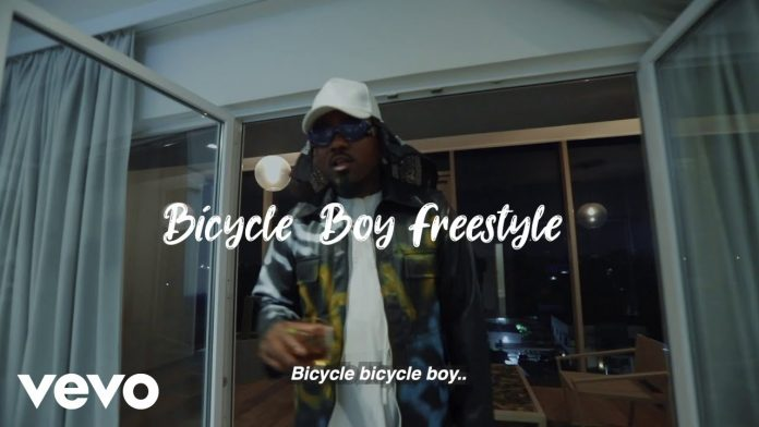 Ice Prince – Bicycle Boy Freestyle [Video/Audio]