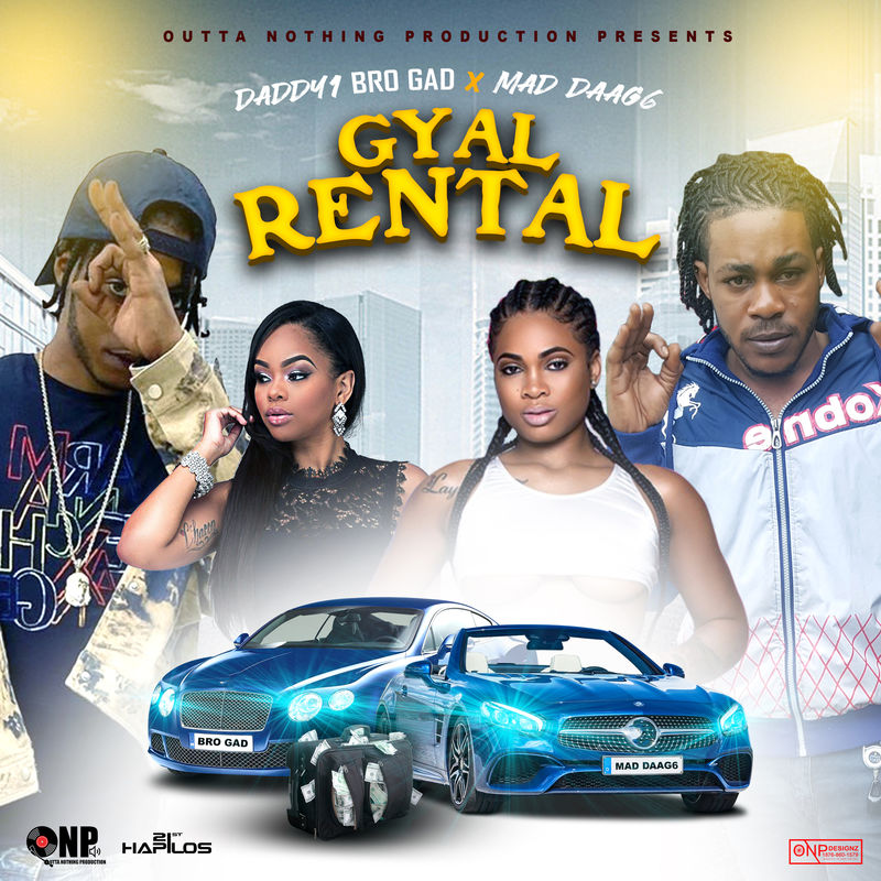 Daddy1 – Gyal Rental Ft. Mad Daag6